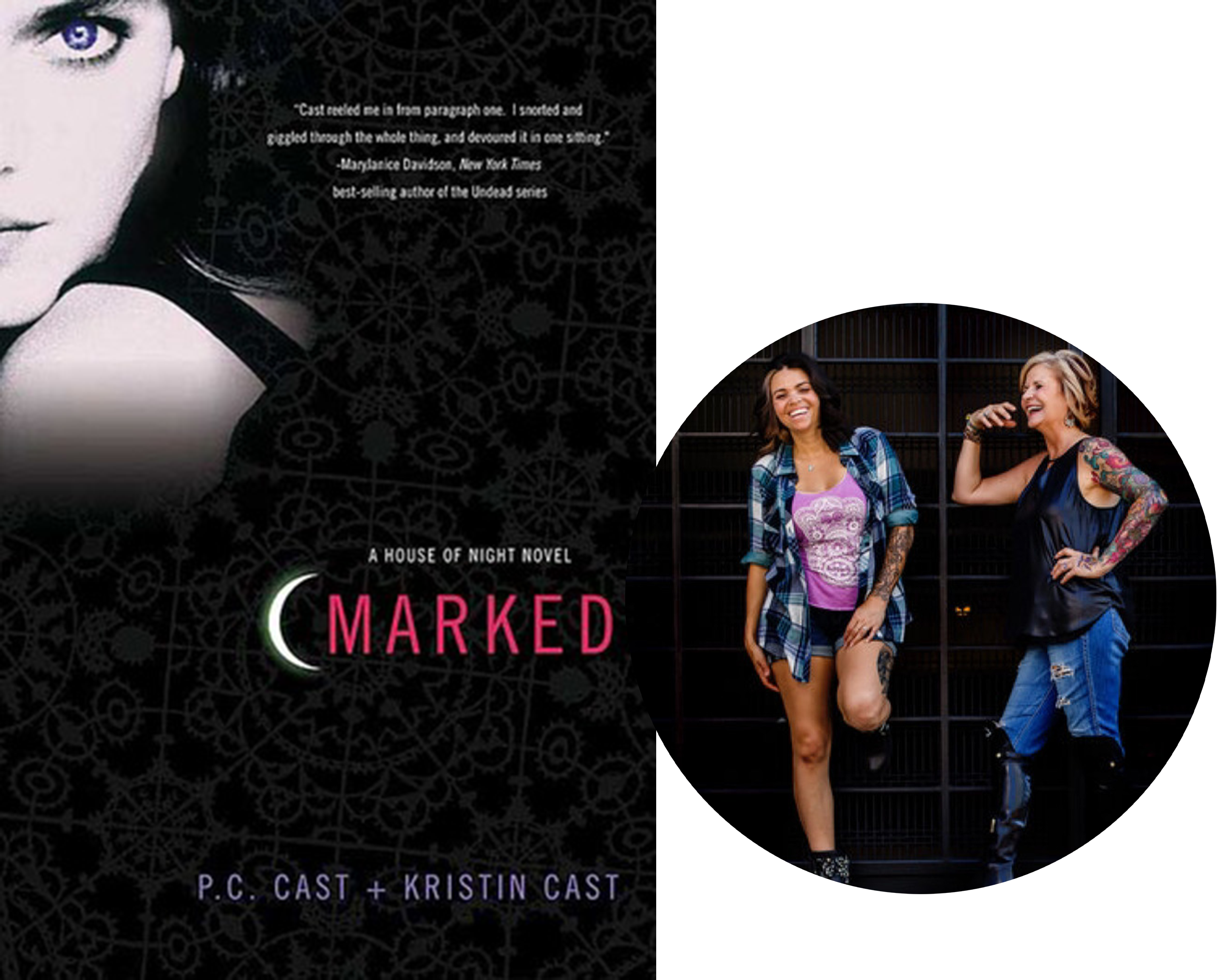 P.C. Cast and Kristin Cast-House of Night