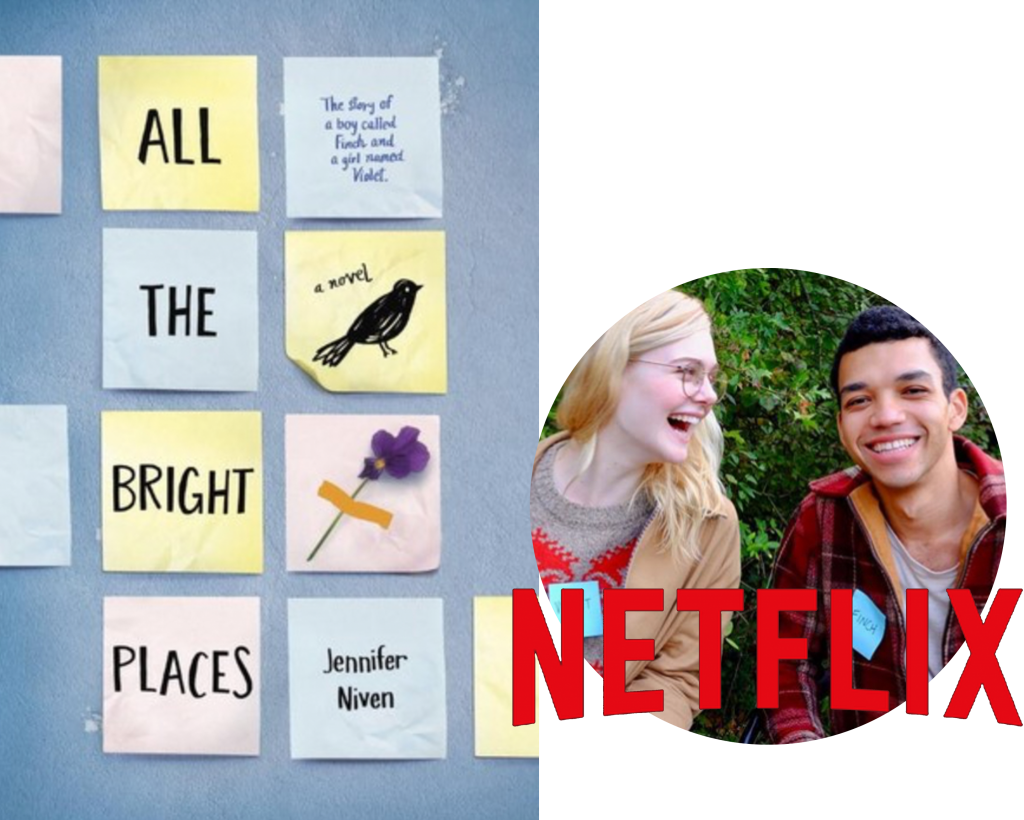 All The Bright Places Adapted For Netflix Original Series Young Adult Edition