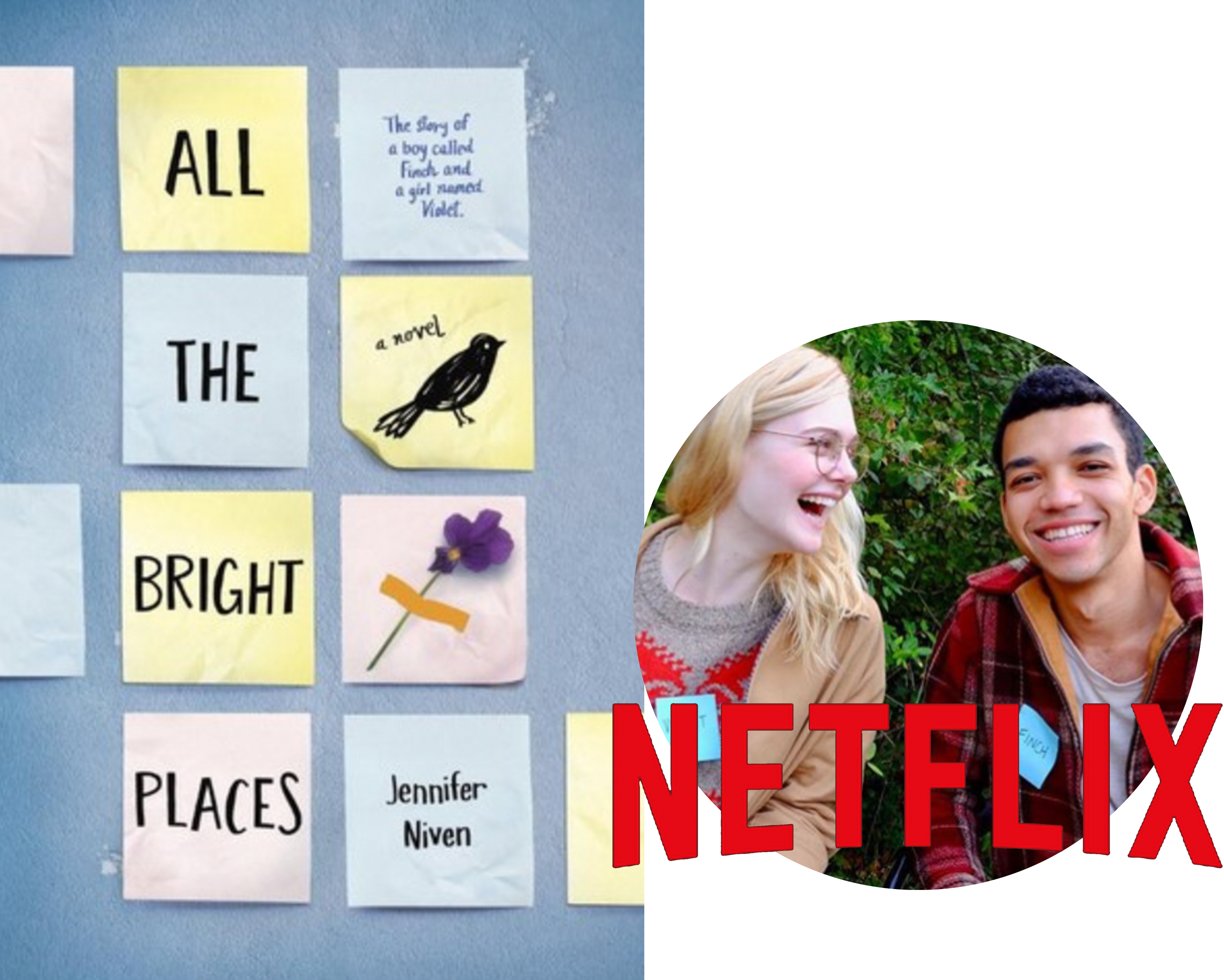 All The Bright Places-Jennifer Niven-Netflix