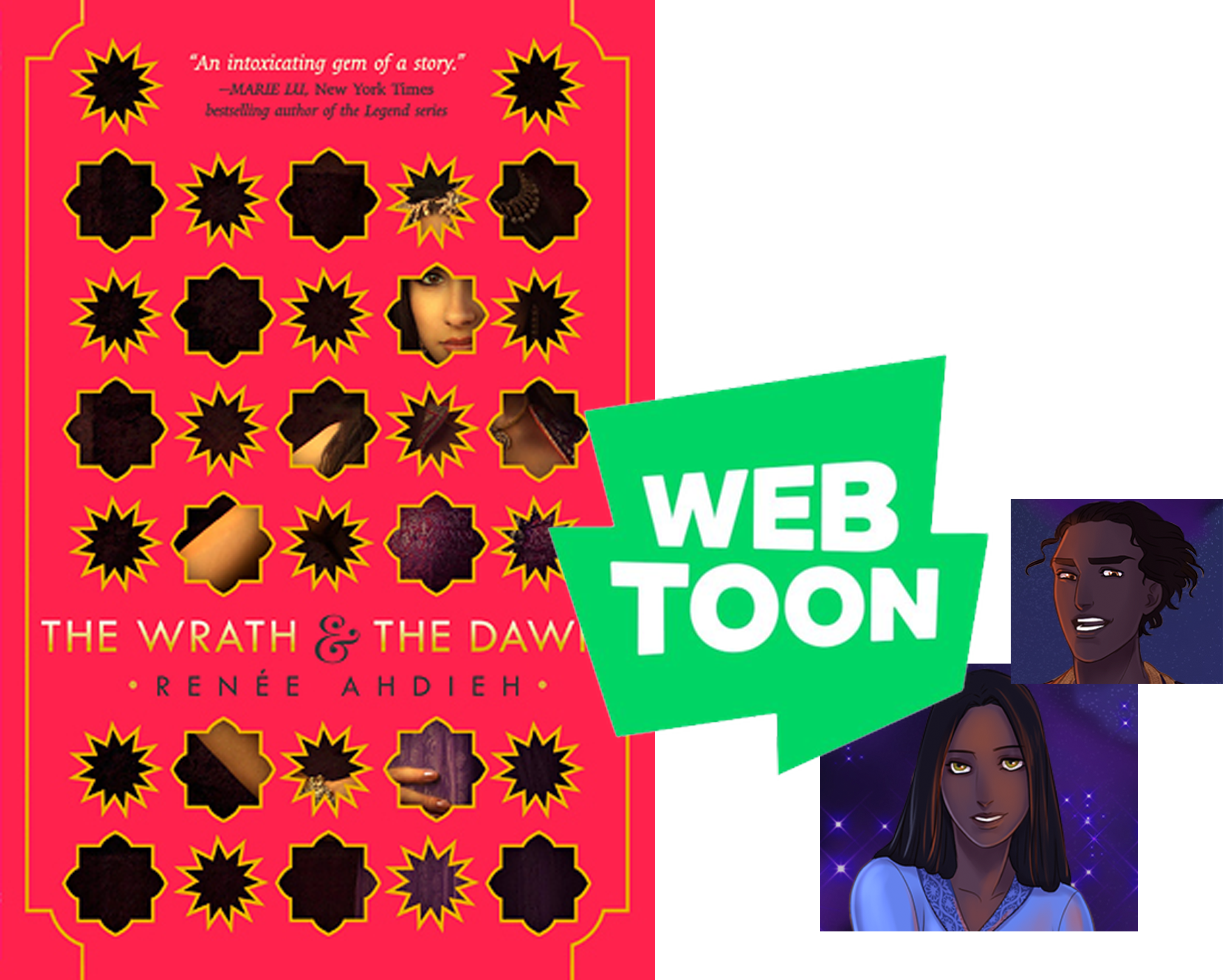 The Wrath and the Dawn Renée Ahdieh on Webtoons